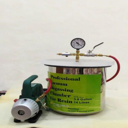 Resin Degassing Vacuum Chamber