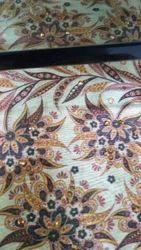 Tussar Silk Polyester Exclusive Multi Zarna Silk Digital Printed Fabric