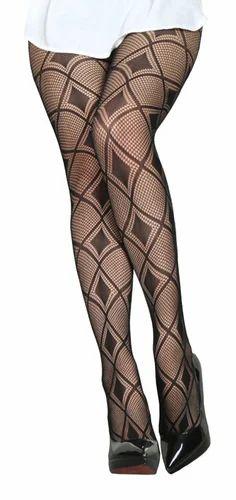 e082645a3a7 Gopalvilla Textured Black Color Stocking