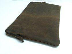 Vintage Buffalo Leather Tab Case