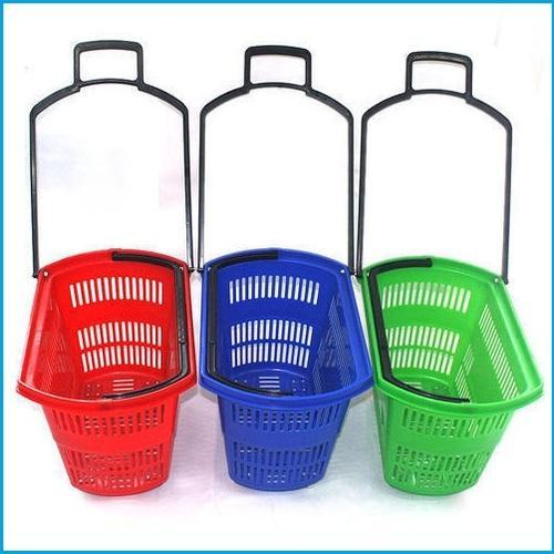 Plastic Shopping Trolley