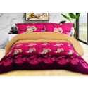 Flower Printed Bed Sheet