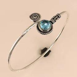Women Silver Cuff Bracelet