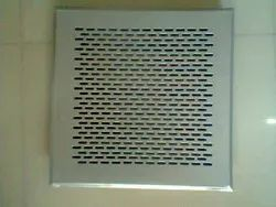 ALU / SS perforated grill