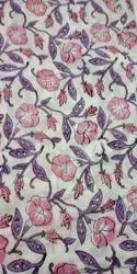Cotton Block Printed Fabric In India