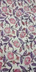 Cotton Block Printed Fabric In India