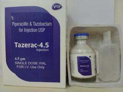 Piperacillin Sodium 4gm Tazobactum 0.5gm Injection