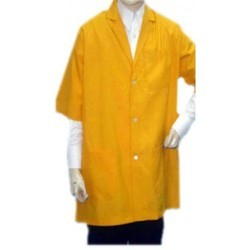 DR Apron Lab Coat Doctor Coat Supervisor Short Sleeve Coat