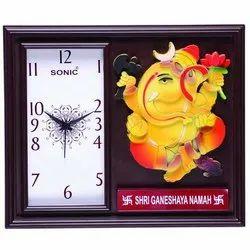 Analog Plastic Sonic Printed Wall Clock, Size: 14.5x11 Inch
