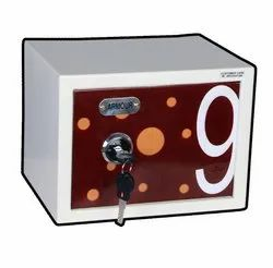 Nano Mechanical Safe Red Graphics
