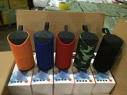 Multy Colour CUBE ROUND TG-13 Wireless Bluetooth Speaker, Size: Medium