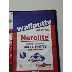 Wall Putty White Cement Bags