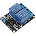 2 Channel Relay Module with Opto Coupler - 5V & 12V