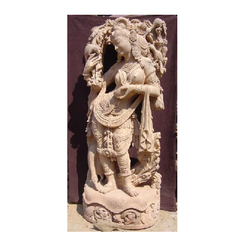 Decorative Apsara Sculpture
