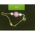 Brass Party Wear Flower Imitation Necklace