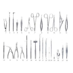 Lacrimal DCR Ophthalmic Surgical Instruments Set