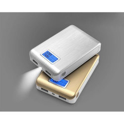 11720mAh Dual USB LCD Display Power Bank