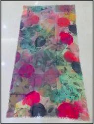 Handmade Woolen Printed Shawl