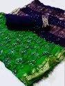 Bandhni Cotton Silk  Sarees