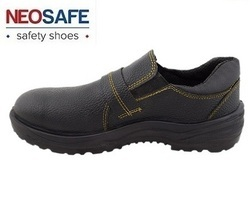 Synthetic Leather and Nitrile Neosafe Slip On Safety Shoe, Tuff A5012