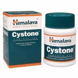 Herbal Himalaya Cystone Tablets, 100 Tablets, Packaging Type: Bottle