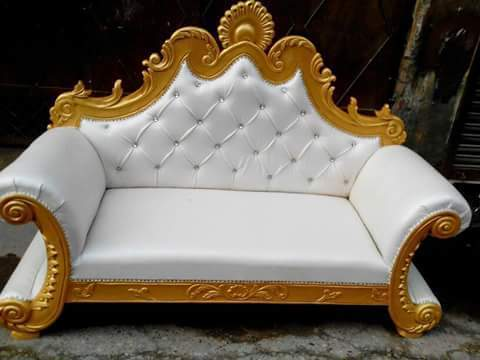 Magnificent Royal Wedding Sofa Bralicious Painted Fabric Chair Ideas Braliciousco