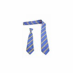 Striped Nylon School Tie