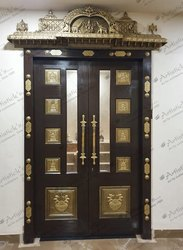 Pooja Room Door And Accessories - Decorative Pooja Room ...
