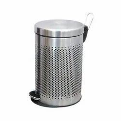 SS Pedal Bin Perforated