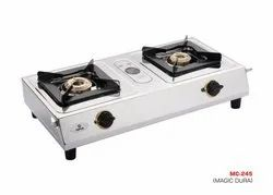 MC-245 Two Burner Gas Stove