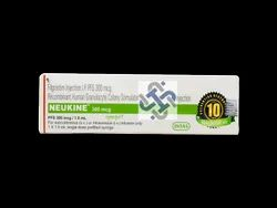 INTAS Neukine Filgrastim 300mcg Injection, Packaging Size: Single Injection Packing, for Clinical