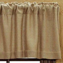 Plain Jute Curtain