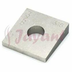 Beveled Square Washer- ASTM F436 Beveled Square Washers, DIN 434 Square Bevel Washer