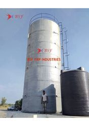 BSF GRP Vertical Acid Storage Tank