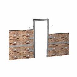 Hexagonal Cement Door Frame
