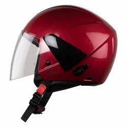 ABS Plastic Steelbird HIGN Vic Red Helmet