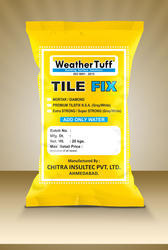 Grey Chemical Tile Adhesive