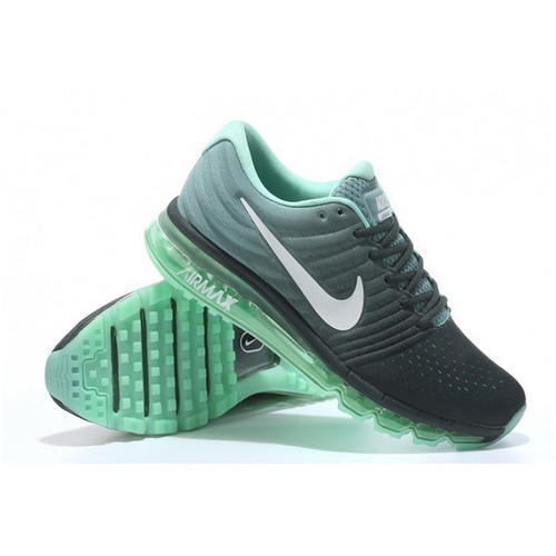 regard détaillé 38ed6 dc555 Nike Air Max 2017 Black Green