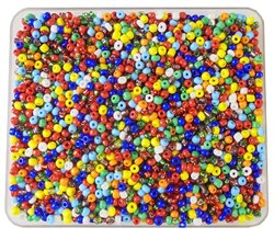 eshoppee 6/0, 4mm Multicolor 200 gm