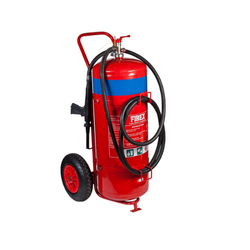 Mild Steel Mechanical Foam (Afff) Based Mobile Fire Extinguishers, Capacity: 25 Kg
