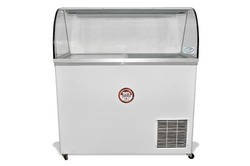 425 Liters Glass Top Deep Freezer With Canopy Ref On