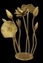 """Lotus Sculpture - 10.5"""""""
