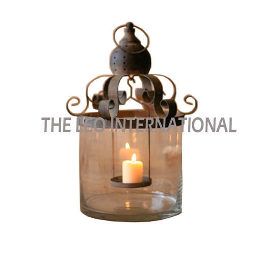 Handmade Designer Candle Lantern New Design, Battery Type: Non-Rechargable