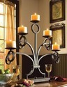 Metal Wall Candle Stand