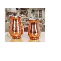 Water Pitcher With Hammer And Copper