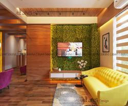 Office Interiors Projects, Size: 600 Sq.ft