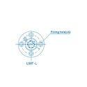 LMF60 L UU Linear Bearing Round Flange Long