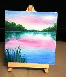 Wooden Miniature Paintings Customized