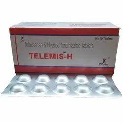 Telmisartan 40mg and Hydrochlorothiazide 12.5 Mg Tablet