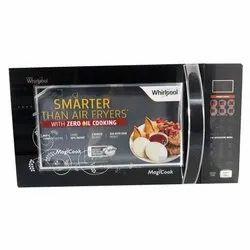 Rectangular Black  Microwave Oven, Size: Medium